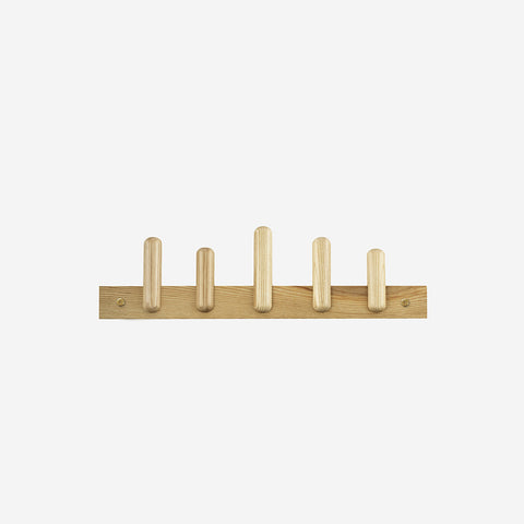 SIMPLE FORM. - Normann Copenhagen - Play Coat Rack Oak - wall Rack