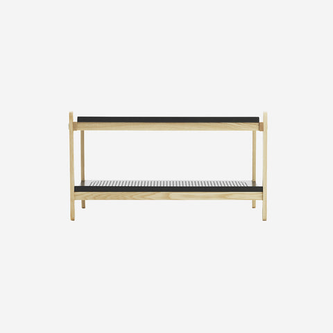 SIMPLE FORM.-Normann Copenhagen Sko Shoe Rack Black Shoe Rack