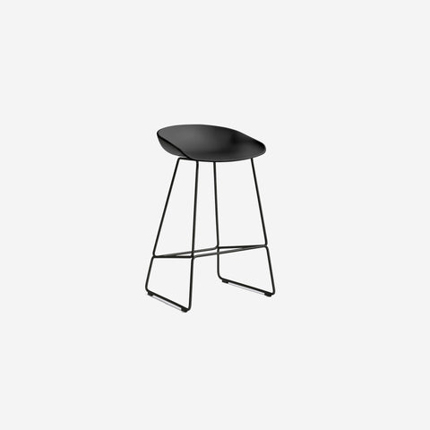 SIMPLE FORM.-Hay AAS38 Black + Black Stool