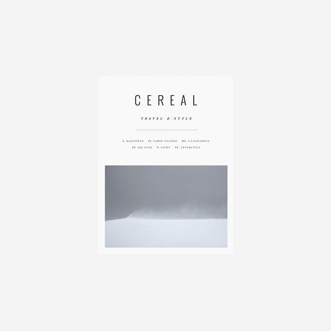 Cereal Magazine - Volume 12 Magazine  - SIMPLE FORM.