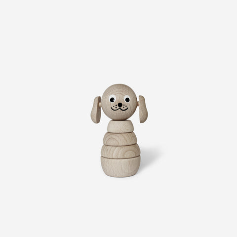 Ella and Frederik - Bertram The Dog - Wooden Toy  SIMPLE FORM.