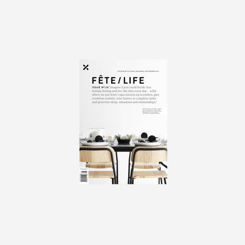 SIMPLE FORM. - Fete Press - Fete Volume 24 - Magazine