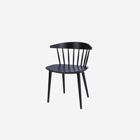 HAY - J104 Chair Black - Chair  SIMPLE FORM.
