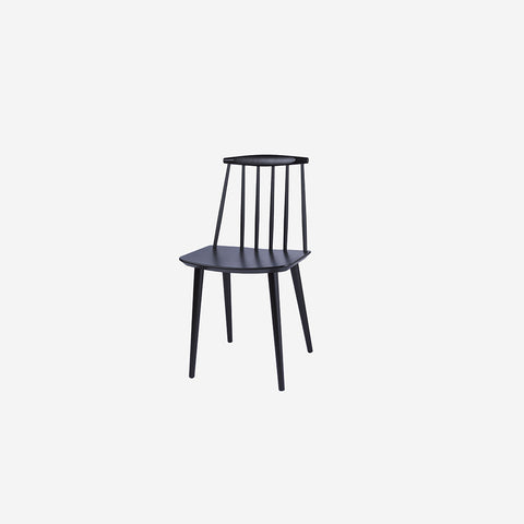 SIMPLE FORM. - HAY - J77 Chair Black - Chair