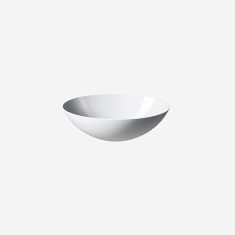SIMPLE FORM. - Normann Copenhagen - Krenit Salad Bowl White - Serving Bowl