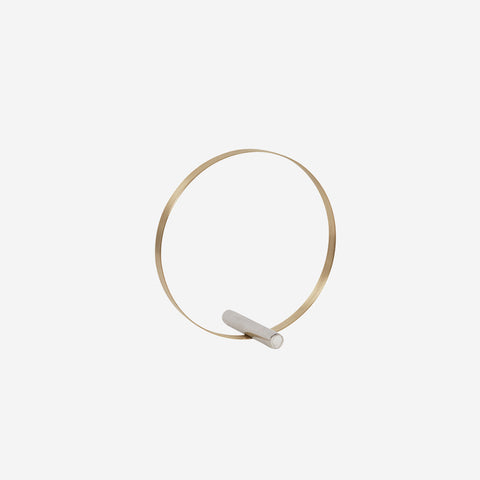 SIMPLE FORM. - Kristina Dam - Brass Decoration Circle - Design object
