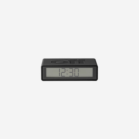 SIMPLE FORM. - Lexon - Flip Clock Dark Grey - Clock