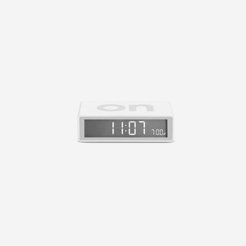 SIMPLE FORM. - Lexon - Flip Clock White - Clock