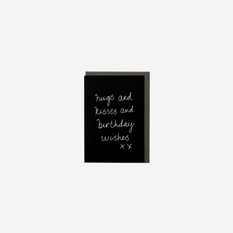 SIMPLE FORM. - Me and Amber - Card Birthday Wishes - Greeting Card