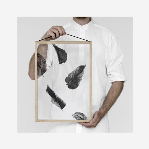 Moebe - Moebe Floating Leaves Transparent Print 02 - Prints  SIMPLE FORM.