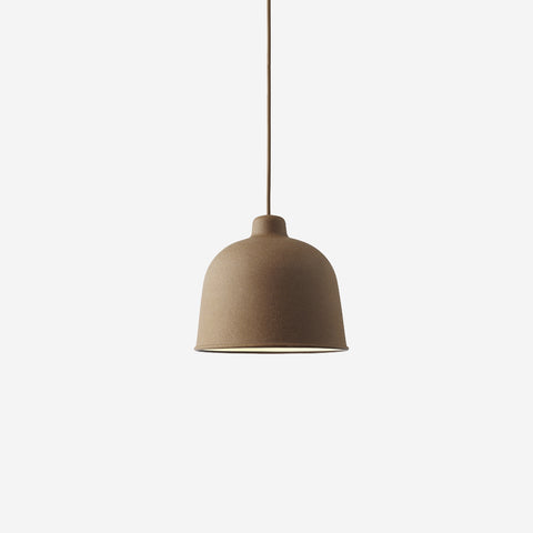 SIMPLE FORM. - Muuto - Grain Pendant Lamp Nature Brown by Muuto - Lighting