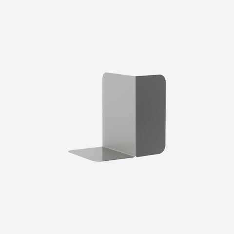 SIMPLE FORM. - Muuto - Compile Bookend Grey - Bookend