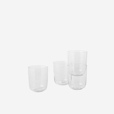 SIMPLE FORM. - Muuto - Corky Drinking Glasses Clear High by Muuto - carafe