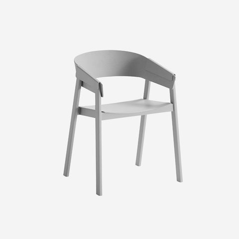 SIMPLE FORM.-Muuto Cover Chair Grey Chair