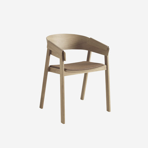 SIMPLE FORM.-Muuto Cover Chair Oak Remix Chair