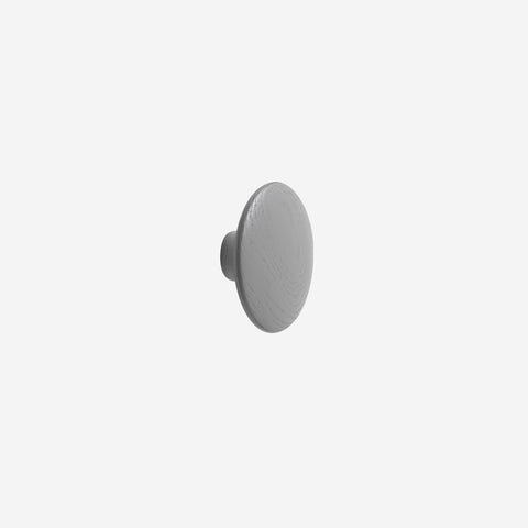 SIMPLE FORM. - Muuto - Dot Hook Wood Dark Grey Medium by Muuto - Hook
