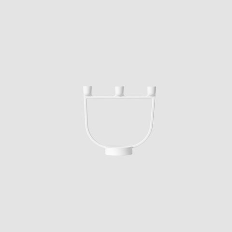 Muuto - Open Candelabra White by Muuto - Table  SIMPLE FORM.