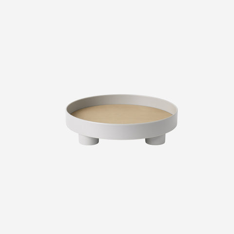 SIMPLE FORM.-Muuto Platform Tray Grey Table