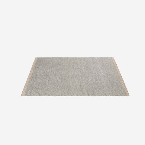 SIMPLE FORM.-Muuto Ply Rug Black White 200x300cm Rug
