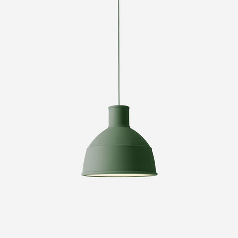 SIMPLE FORM. - Muuto - Unfold Pendant Green - Pendant