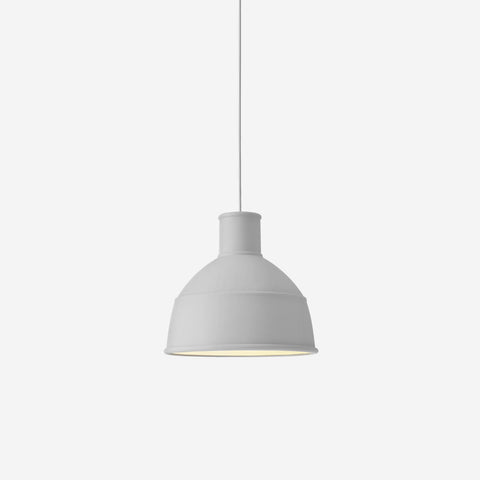 SIMPLE FORM. - Muuto - Unfold Pendant Grey - Pendant