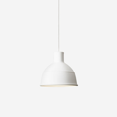 SIMPLE FORM. - Muuto - Unfold Pendant White - Pendant