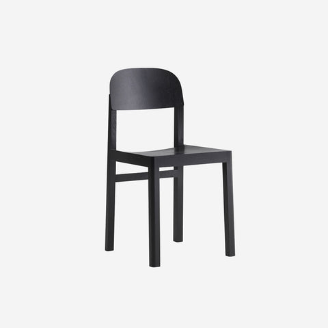 SIMPLE FORM. - Muuto - Workshop Chair Black - Chair