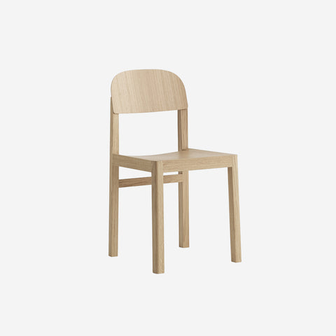 SIMPLE FORM. - Muuto - Workshop Chair Oak - Chair
