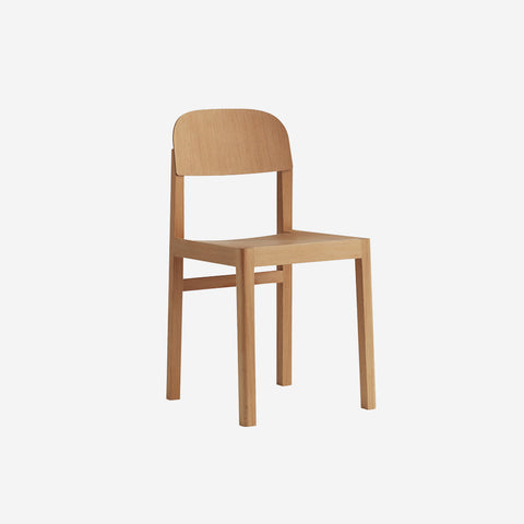 SIMPLE FORM.-Muuto Workshop Chair Oregon Pine Chair