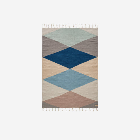 SIMPLE FORM.-OYOY Living Diamond Hip Rug Rug
