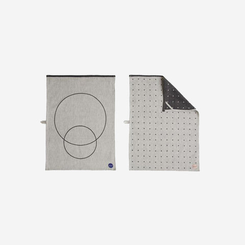 OYOY Living - Circle Tea Towels Tea Towel  - SIMPLE FORM.