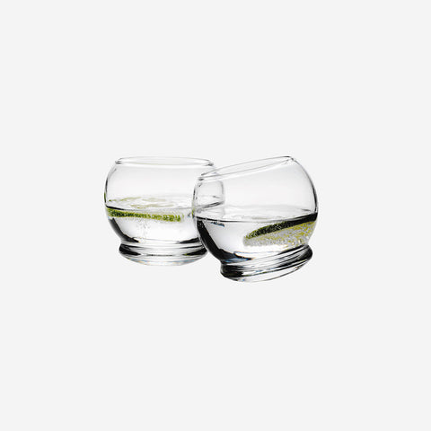 Normann Copenhagen - Rocking Glasses Set of 4   - SIMPLE FORM.