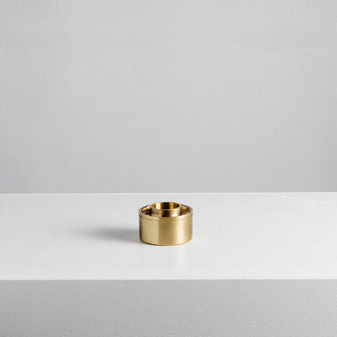 Addition Studio - Asteroid Brass Oil Burner - Oil Burner  SIMPLE FORM.