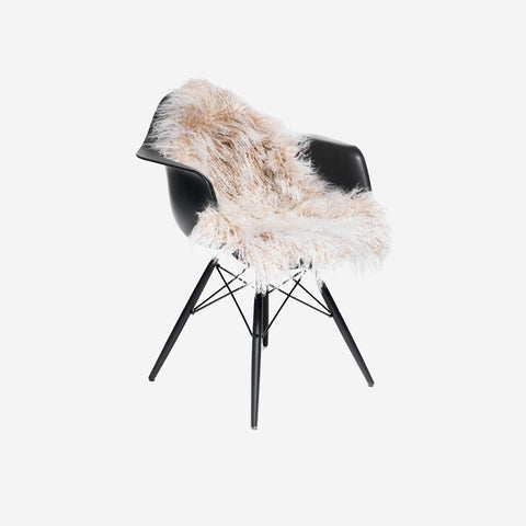 SIMPLE FORM.-Natures Collection Tibetan Sheepskin Arctic Sunrise Sheepskin
