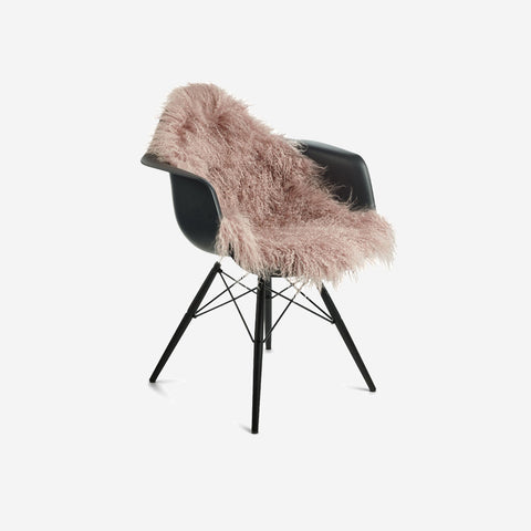 SIMPLE FORM.-Natures Collection Tibetan Sheepskin Rose Sheepskin