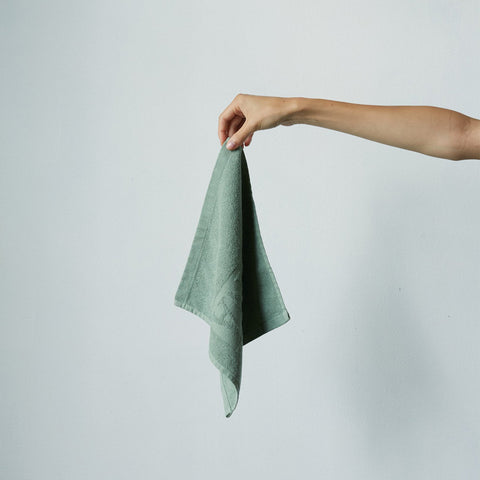Baina - Baina Agnes Face Towel Sage - Towel  SIMPLE FORM.