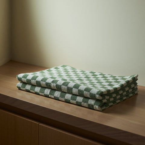 Baina - Beppu Bath Mat Sage Chalk by Baina - Towel  SIMPLE FORM.