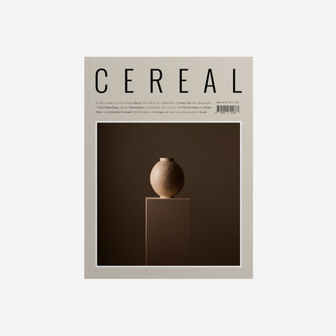 Cereal - Cereal Volume 19 - Magazine  SIMPLE FORM.