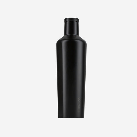 Corkcicle - Corkcicle Black Drink Bottle 750ml - Bottle  SIMPLE FORM.