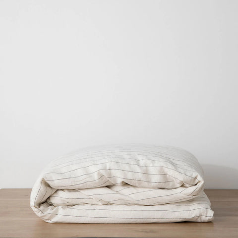 Cultiver - Cultiver Duvet Cover Pencil Stripe - Bedding  SIMPLE FORM.