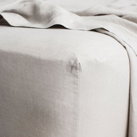 Cultiver - Cultiver Fitted Sheet Smoke grey - Bedding  SIMPLE FORM.