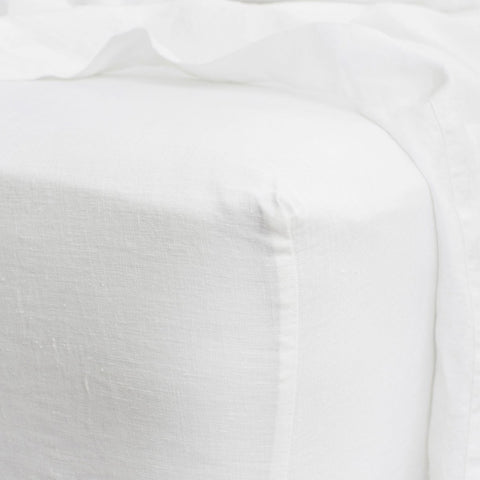 Cultiver - Cultiver Fitted Sheet White - Bedding  SIMPLE FORM.