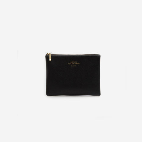 Delfonics - Quitterie Black Small Case - Purse  SIMPLE FORM.