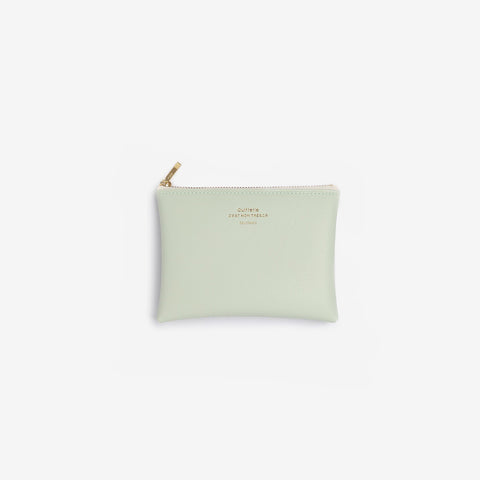 SIMPLE FORM. - Delfonics - Quitterie Mint Green Small Case - Purse