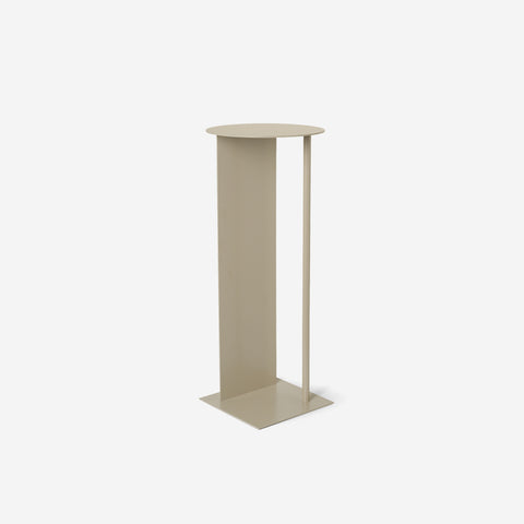 Ferm Living - Ferm Living Place Pedestal Cashmere - Display Stand  SIMPLE FORM.