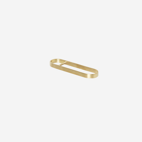 Ferm Living - Ferm Living Fein Bottle Opener Brass - Bottle Opener  SIMPLE FORM.