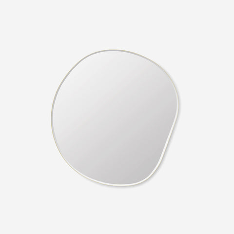 Ferm Living - Ferm Living Pond Mirror XL Brass - Mirror  SIMPLE FORM.