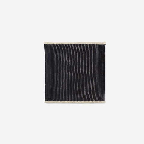 Ferm Living - Ferm Living Twofold Cloth Black Sand - Dish Cloth  SIMPLE FORM.