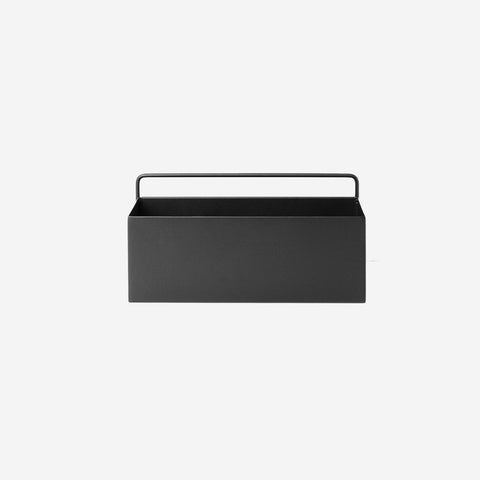 Ferm Living - Ferm Living Wall Box Rectangle Black - Wall Shelf  SIMPLE FORM.