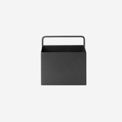 Ferm Living - Ferm Living Wall Box Square Black - Wall Shelf  SIMPLE FORM.